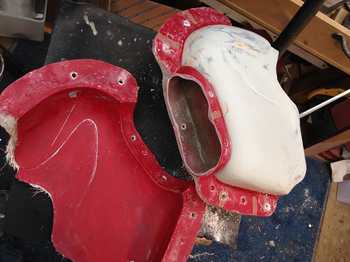 making fairing mould